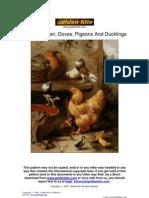 GK 780 - A Chicken, Doves[1][1]