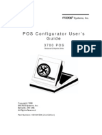 Micros 3700 POS Configurator Manual