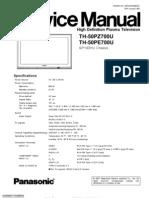 Th-50pz700u Service Manual