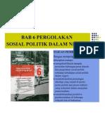 BAB 6 Pergolakan Sosial Politik Dalam Negeri