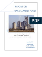 37233324 Report on JAypee Cement