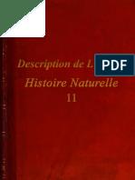 Description de L'Egypte - Histoire Naturelle - 11