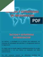 Tacticas y Estrategias de Negociacion
