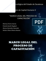 MARCO LEGAL DEL PROCESO DE CAPACITACIÓN