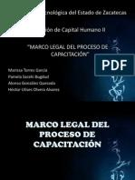 MARCO LEGAL DEL PROCESO DE CAPACITACIÓN