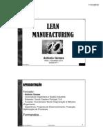 Lean Manufacturing -1º Sessão