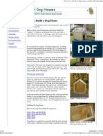 Dog House Plans 1