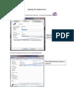 Cambiar IP Al Sistema Uno