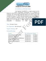 Analysis of SNAP-2004