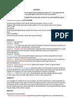 Biochimica - Programma