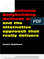 Why Convetional Bodybuilding Methods Suck by Stuart Mcrobert