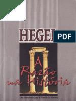 Hegel - A Razao Na Historia
