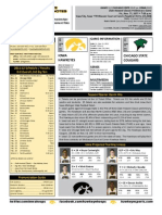 Iowa vs Chicago State Game Notes