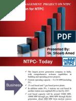 37437925 Finance Project on Ntpc