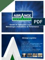 ABRANGE Logística - Gestão de Operações Logísticas - Metodologia e Indicadores de performance