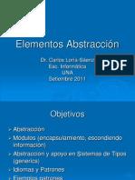 Elementos Abstracción