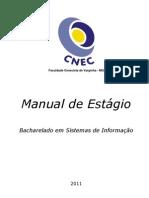 Manual de Estágio - Sistemas de Informação - Faceca
