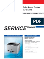 Samsung CLP-315 Service Manual