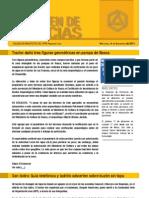 CAP Regional Lima - Resumen de Noticias 09 11 11