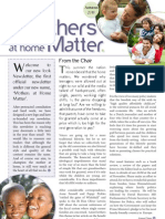 Mothers at Home Matters Newsletter