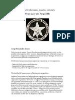 Guerra Revolucionaria Argentina. Cómo y por qué fue posible
