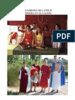Exámenes L. Latina II
