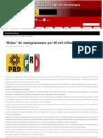 09-11-11 Bolsa de Reasignaciones Por 90 Mil Millones Al PEF 2012