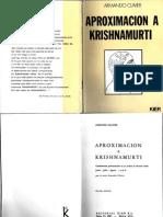 Aprox_ a Krishnamurti- Armando _Clavier