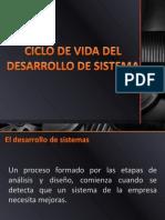 Ciclo de vida del analisis y diseño  de sistemas