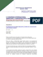 Invisibilización de la Niña - Ana María Fernández