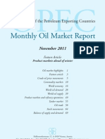 OPEC - Monthly Oil Market Report