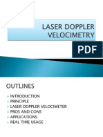 Laser Doppler Velocimetry