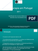 Radioterapia em Portugal  2011