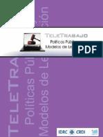Teletrabajo, Legislación y Politicas Publicas