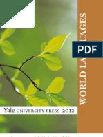 Yale University Press World Languages 2012 Catalog