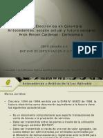 Gobierno de Internet - Factura Electronic A