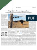 Zwei Schweizer Metzger leisten in Rumänien Entwicklungshilfe in Sachen Rinderzucht und Fleischqualität