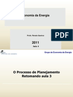 Economia Da Energia 2011 Aula 4 09nov