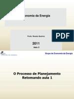 Economia Da Energia 2011 Aula 2