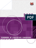 新加坡统计年鉴2007