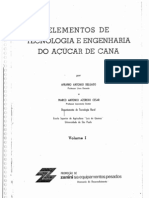 Elementos de Tecnologia e Engenharia do Açucar de Cana Vol 1