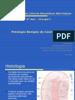 Patologia Benigna Da Cavidade Oral Final