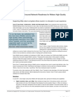 Cisco IT Case Study WebEx High-Quality Video Case Study