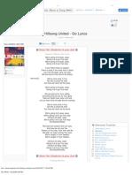Go Lyrics - Hillsong United