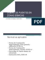 DISEÑO DE PUENTES EN ZONAS SÍSMICAS
