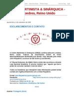 Blog Ordem Martinista & Sinarquica -  OM&S Reino Unido