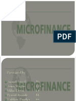 Micro Finance (Banking PPT)