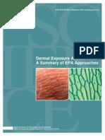 Dermal Exposure Assessment 2007 Final