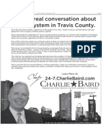 Charlie Baird Campaign Ad In November 2011 Edition Of LaVoz