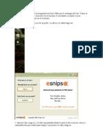 Tutorial Para Subir Archivos a eSnips